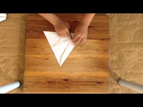 How to make the best paper plane ever | Hunter