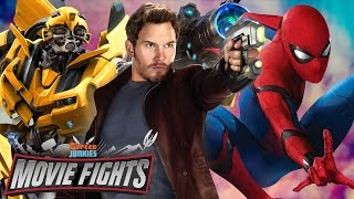 Biggest Summer Blockbuster of 2017?! Spider-Man: Homecoming v Guardians Vol 2! - MOVIE FIGHTS!!