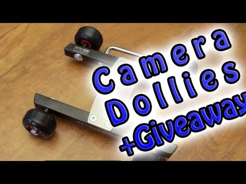 DIY Camera Dolly's Review + Giveaway (MerlinDolly)