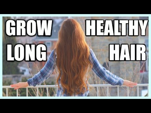 How To Grow Long Hair Quickly + My Hair Care Routine 2016!
