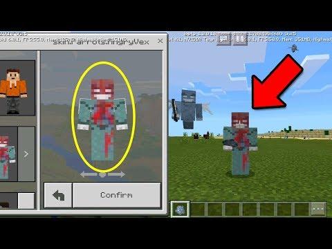 FREE Mob Skin Pack For Minecraft Pocket Edition 1.2 Beta & Skin Glitch Bug Fix!