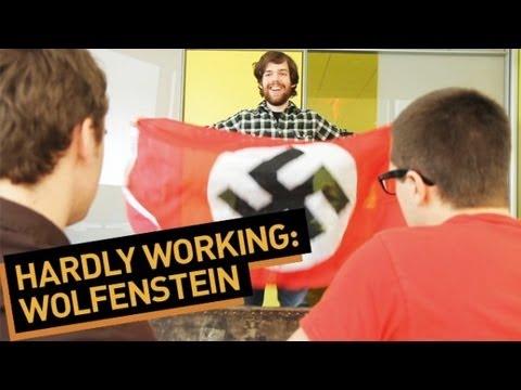 watch Hardly Working: Wolfenstein
