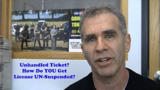 Dealing With Your Traffic Ticket With Dmv Notice Of Upcoming Suspensi