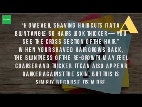 Why Does Hair Grow Faster After Shaving?