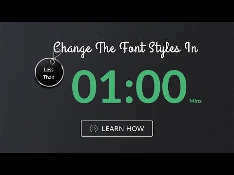 Change font on full website from css - 'Salt' | Website Template