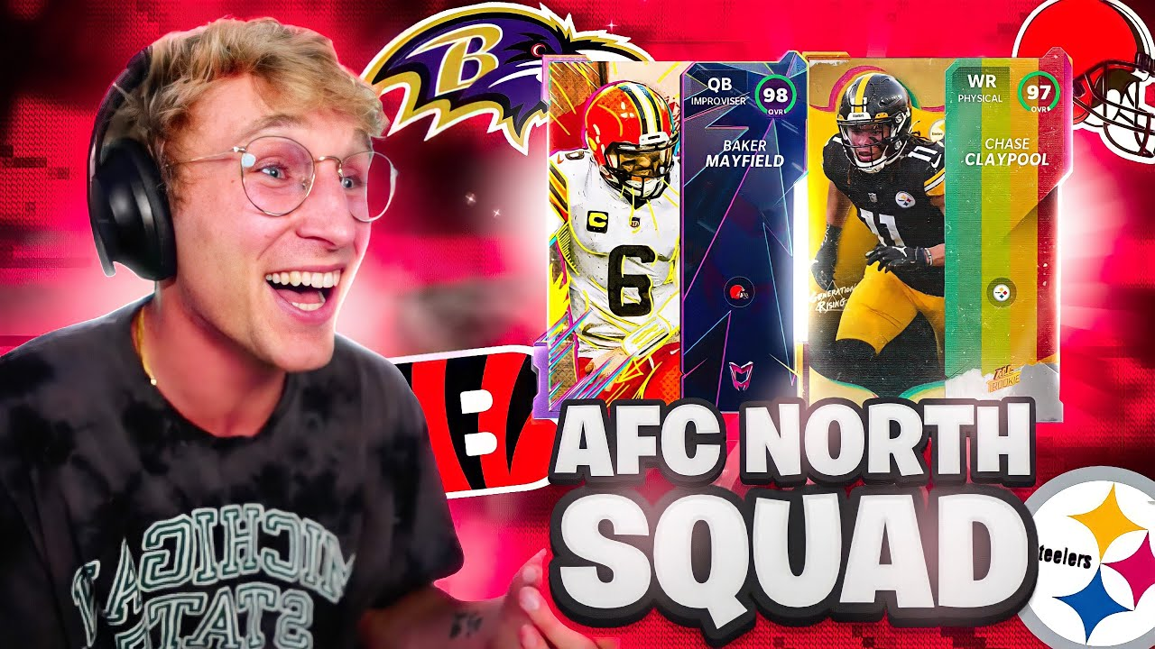 The All-AFC North Team!