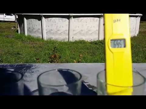 rain water ph testing for the aquaponics system. Small plant update ep 59