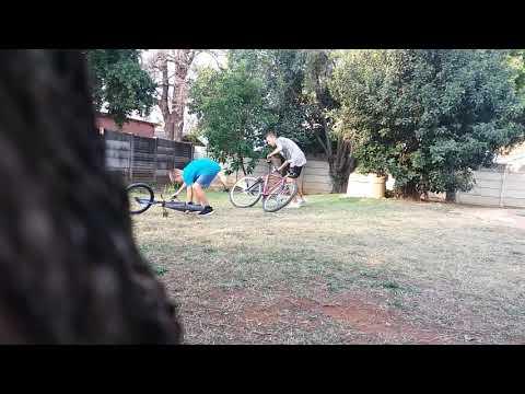 Epic bike falls