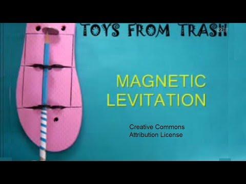 MAGNETIC LEVITATION PENCIL - ENGLISH