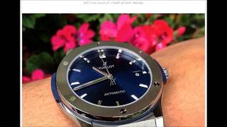 #x202b;مواصفات ساعة هوبلت الفاخرة للذوق الرجالى الأنيق بالأسعار Rqeeqa Com#x202c;lrm;