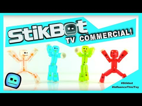 THE ORIGINAL StikBots Television Commercial.