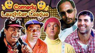 Popular Hindi Comedy Scenes | Comedy Laughter League | Akshay Kumar - Paresh Rawal - Kader Khan