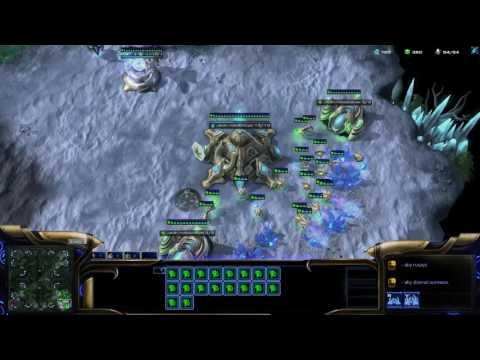 Starcraft 2 LOTV - PvZ silver league ladder game