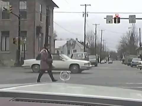 Drive through Lancaster County Pennsylvania 1993