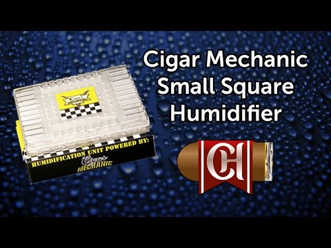Cigar Mechanic Small Square Humidifier