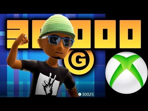 30,000 GAMERSCORE - Xbox Achievement Points & Xbox Games History