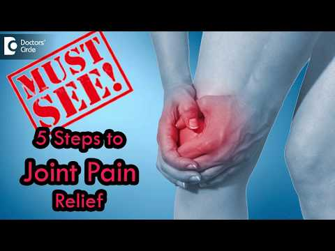 5 Steps to Joint Pain Relief - Dr. Ram Prabhoo