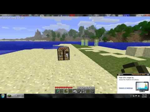 How to make Flint & Steel in Minecraft!!!