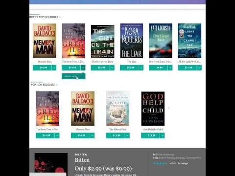 Buying eBooks on kobo com