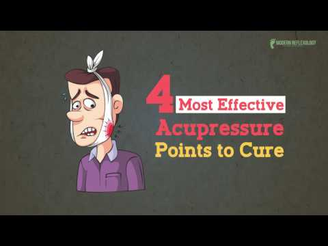 4 Most Effective Acupressure Points to Cure Toothache