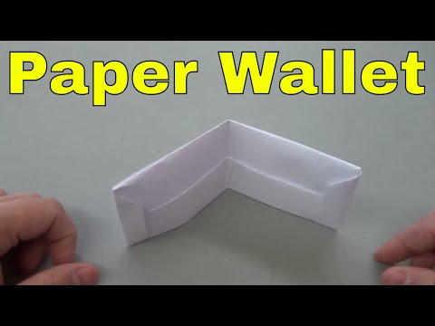 How To Make A Wallet Out Of Paper-Origami Tutorial