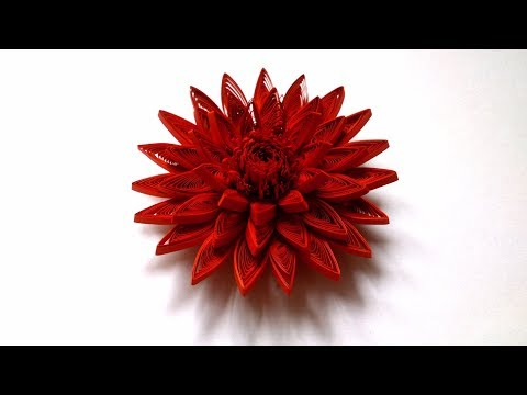 How To Make A Paper  Quilling Flower - Creative Paper