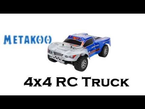4x4 RC truck that goes 43/MPH?  You bet! - Is this a toy?  A969-B