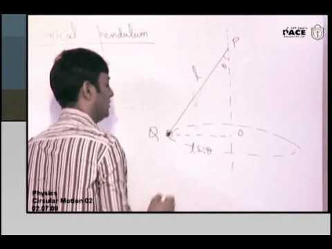 Circular Motion: Conical Pendulum Prof. Praveen Tyagi