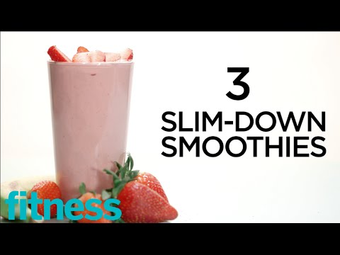 3 Slim-Down Healthy Smoothie Recipes | Healthy Recipes | Fitness