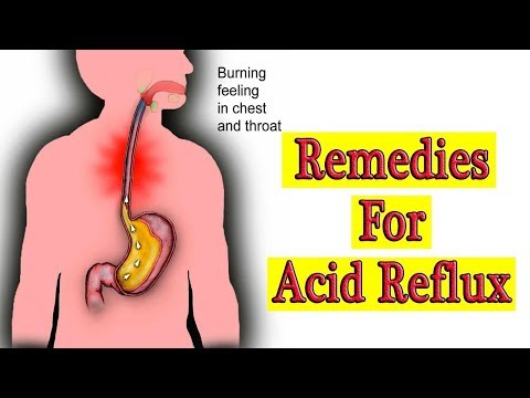 How to Get Rid of Acid Reflux & GERD.