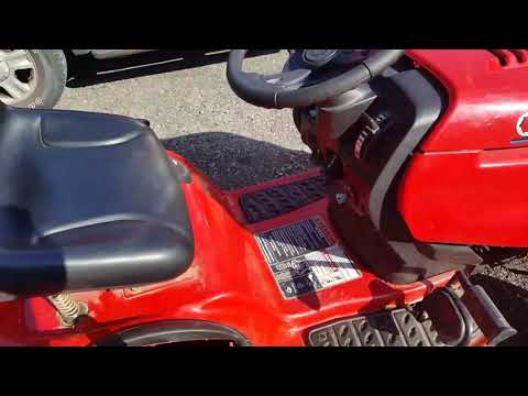Troy-Bilt Bronco riding lawn mower repair
