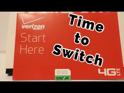 Switching to Verizon Prepaid from Cricket Wireless