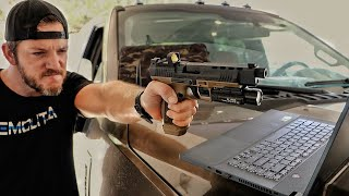 The Most Tactical and Affordable Gun, Against My Bulletproof Laptop