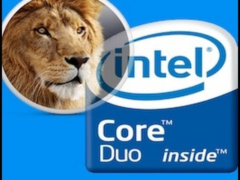 Installing Lion on Core Duo