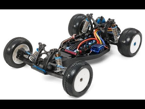 Tamiya Tuesday - TRF 201 2WD Racing Buggy Unboxing