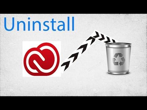 How to Uninstall Creative Cloud