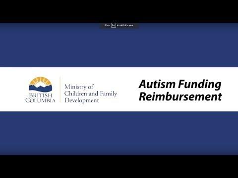 Autism Funding Program Reimbursement