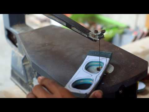 Beje - the making of wooden glasses