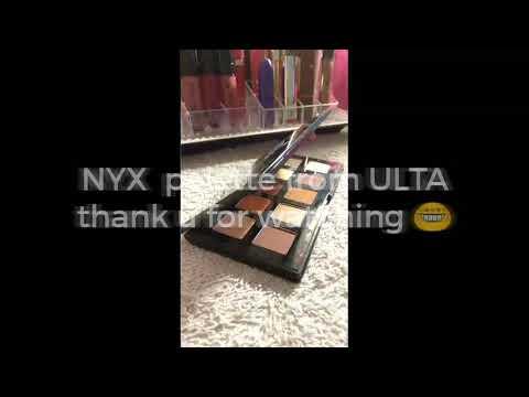 ULTA FREE Birthday gift NYX full size palette!!!!