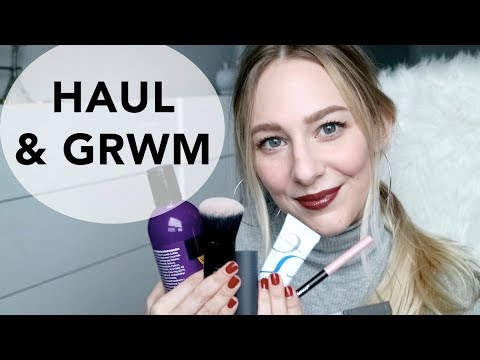 MAKEUP HAUL + FIRST IMPRESSIONS GRWM!