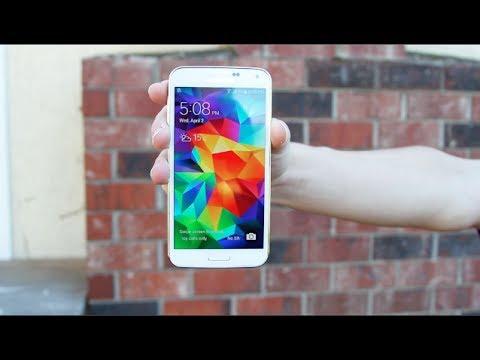 Samsung Galaxy S5 vs iPhone 5S Drop Test!