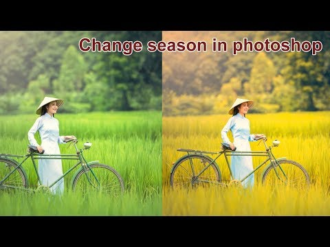 how to change season in photoshop hindi video tutorials.