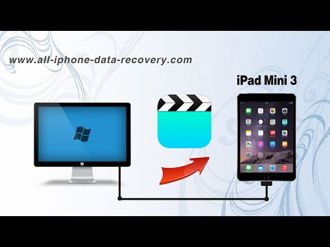 How to Copy Videos from Computer to iPad Mini 3 without iTunes, Import Movies to iPad Mini 3