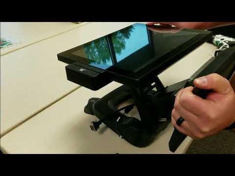 Hisense HK570 - How to install 10 inch & 15 inch  customer display