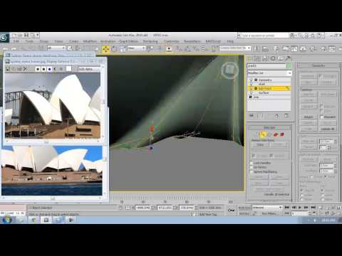 3Ds Max Tutorial - 3 - Sydney Opera House Modeling