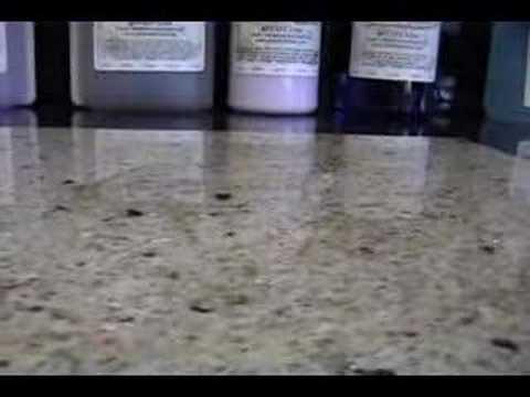 Granite Shield - Unsealed Granite VS Granite Shield