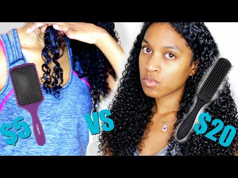 Denman Brush VS Paddle Brush Which is Better On Natural Hair