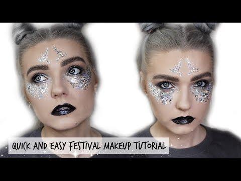 Quick & Easy Festival Makeup Tutorial | LoveFings
