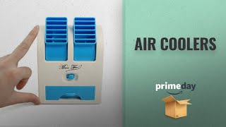 """Amazon Prime Day Air Coolers Deals: Bulfyss 5"""" Usb And Battery Powered Mini Portable Dual Blower"""