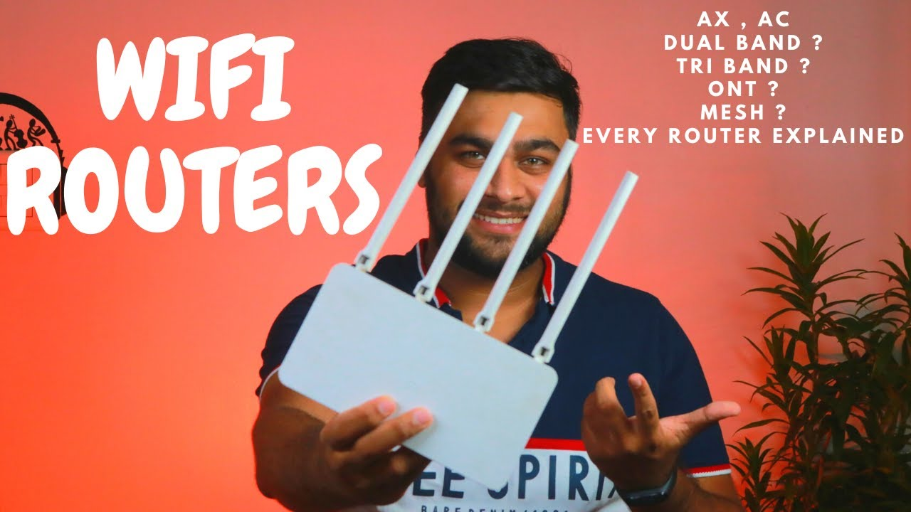 Wifi Routers | Every Router Explained |Which One Do You Need ? AC , AX , ONT, MESH ??